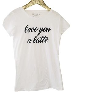 Love You a Latte Tee